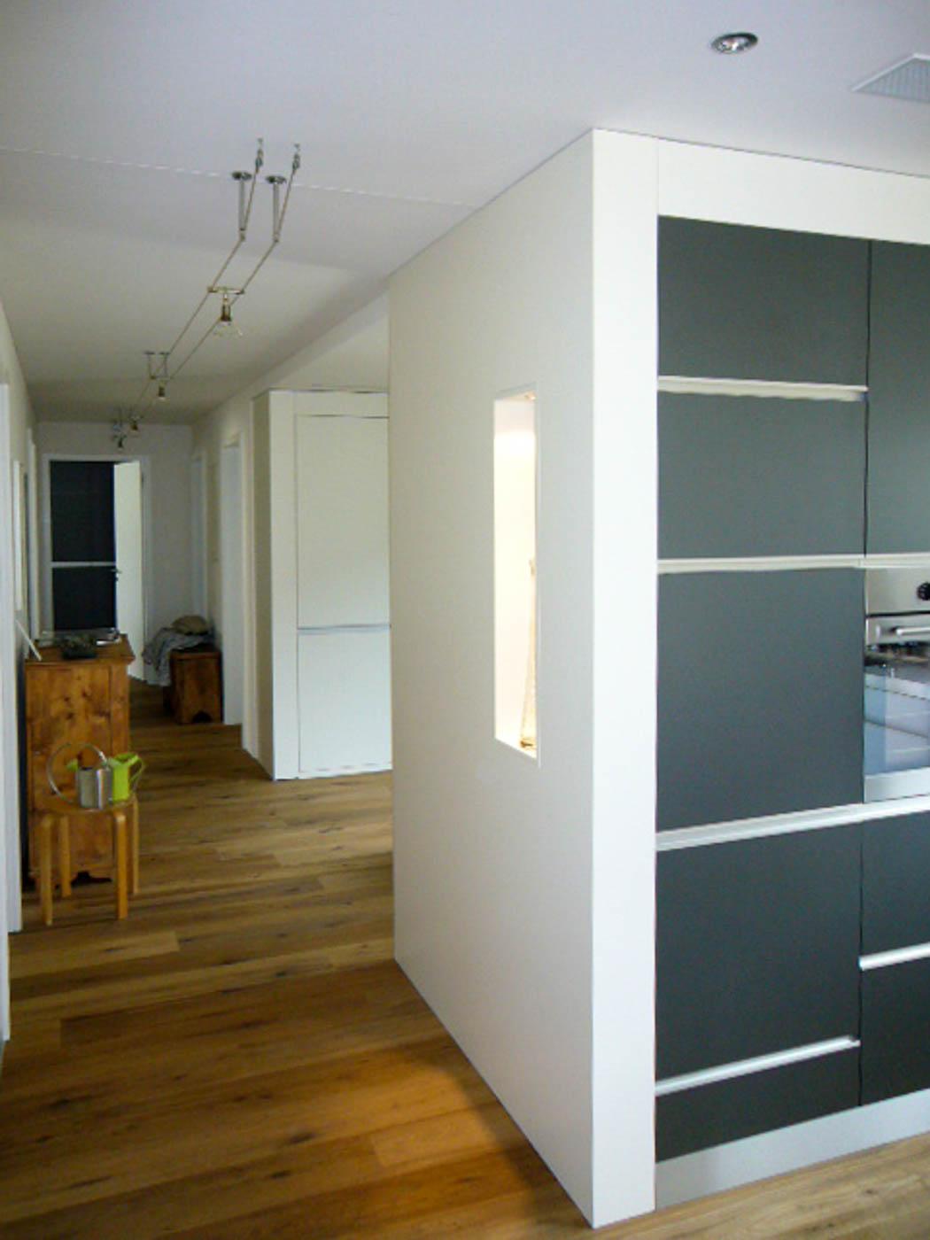 Schreinerei imboden wir gestalten wohnraum for Einbaukuche grau